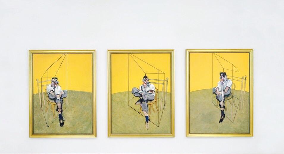 Francis bacon pintura tres estudios de lucien freud - Tres estudio ...