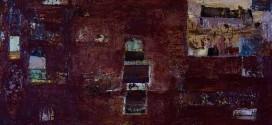 Tomás Bartolomé. Casa grande en el campo, y primer plano de  ciudad cercana. Large house in the countryside, and foreground City. Óleo sobre lienzo By Tb